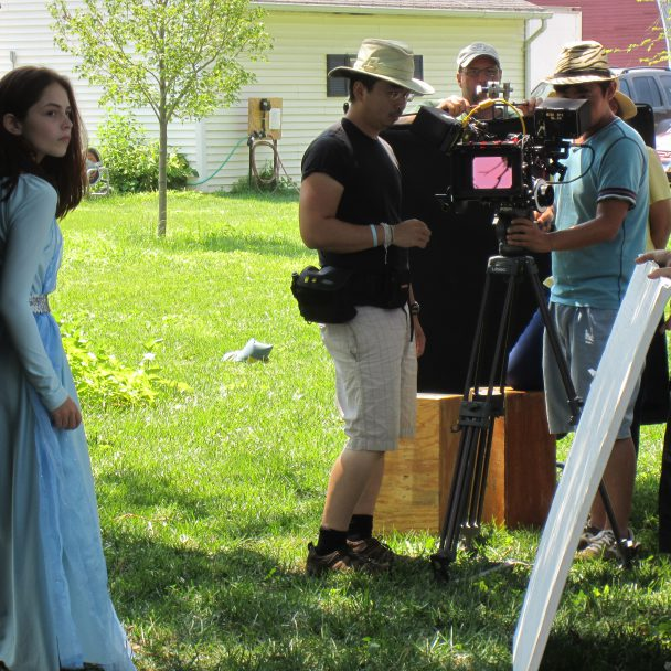 On set of Wild Prairie Rose